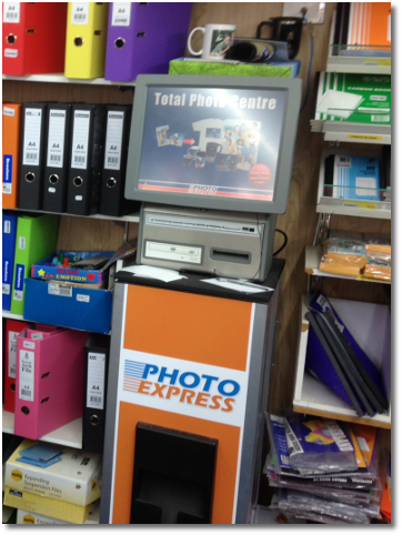 Photo Express Digital Photo Kiosk