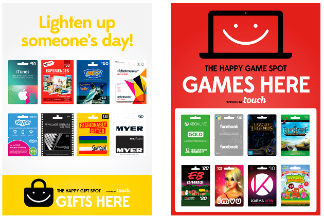 iTunes, Gift Cards, Gaming Cards