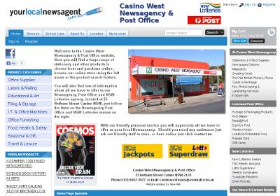 casino west newsagency for sale